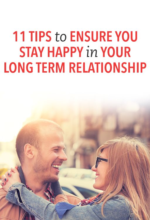 tips for a happy long term relationship