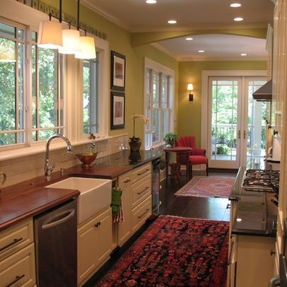 Kitchens without upper cabinets no upper cabinets design - Kitchen designs with no wall cabinets ...