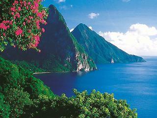 santa lucia island caribbean