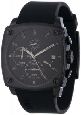 a56e582ba41 Relógio PUMA Men s PU102591003 Shade Large Three-Hand Date Black Watch   Relógio  PUMA