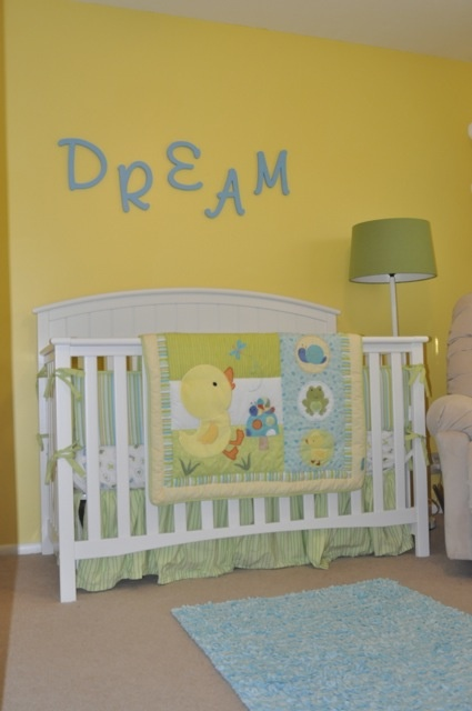Charlie's Room | Yellow nursery, Bright nursery, Modern ... |Green And Yellow Baby Room