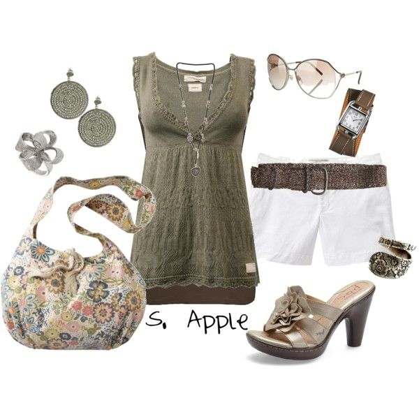 Spring, created by sapple324 on Polyvore