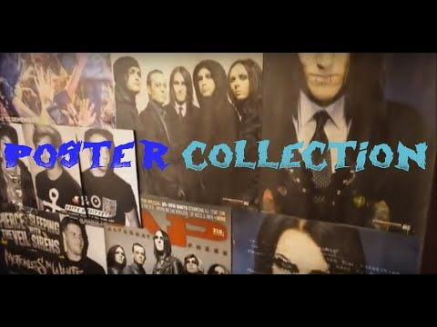 YouTube poster collection bands motionless in white black veil brides pierce the veil all time low a day to remember sleeping with sirens