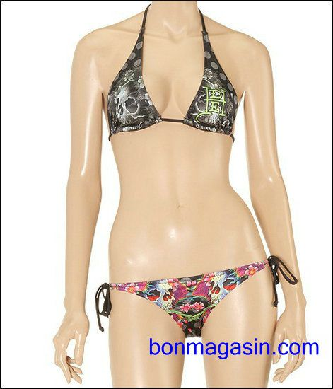 vendre pas cher femme ed hardy bikini f0014 en ligne en france maillot de bain ed hardy pas. Black Bedroom Furniture Sets. Home Design Ideas
