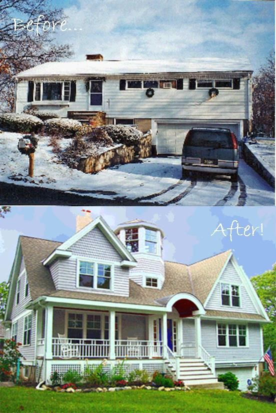 163 best Before and After Exterior Makeovers images on Pinterest