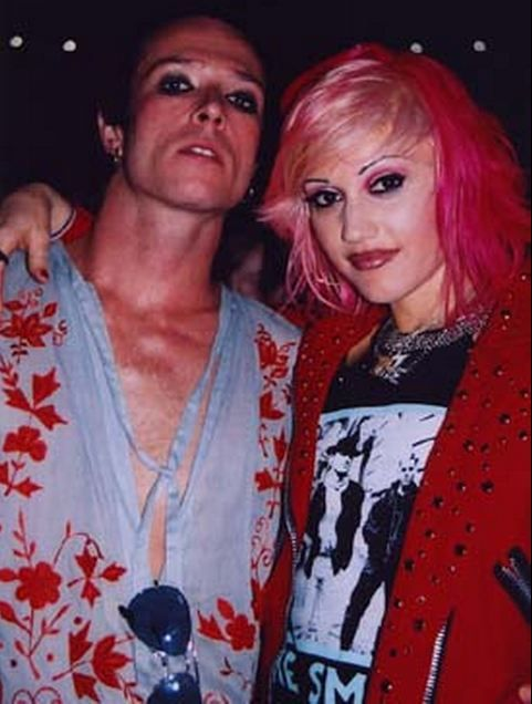 Scott Weiland and Gwen Stefani