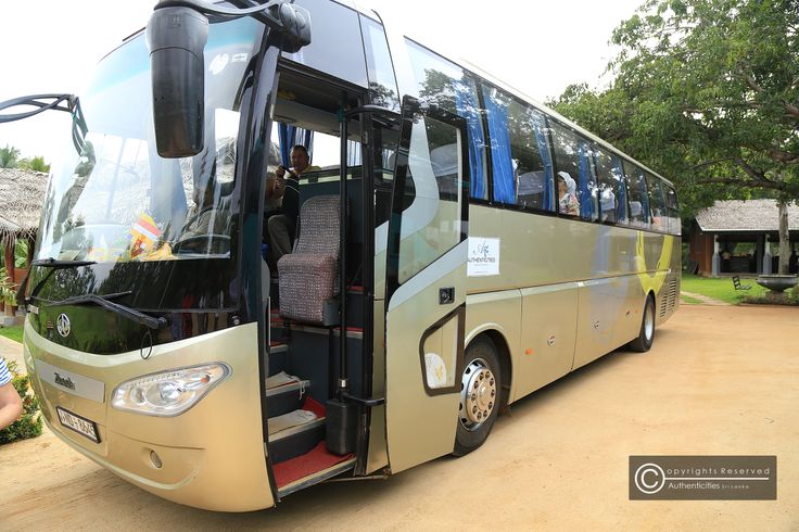 our coaches on tour  we understand that comfort matters when you travel around Sri Lanka. our coaches are branded, new and pre-checked before dispatching