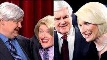 *Andy Richter = Newt Gingrich   *Conan O'Brien = Callista Gingrich     *Best Impersonation Ever.