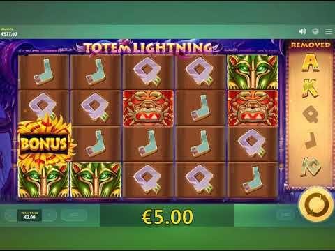 Totem Lightning slotmaskiner -  https://www.jackpotkung.com/spel/totem-lightning-slotmaskiner #TotemLightning #slotmaskiner