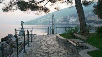 Lungomare Opatija #Opatija #Istria #Croatia #travel #Europe #tourism #ebdestinations