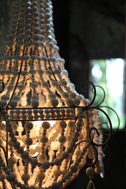 Hellooow Handmade Chandeliers - made from recycled paper clay and by South African women with HIV, empowering them with skills and confidence.