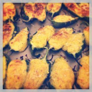 Cornbread-stuffed Jalapeños (gluten free)