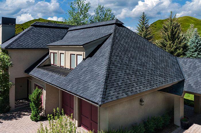 Best Windsor Midnight Black Shingling Roof Installation 640 x 480