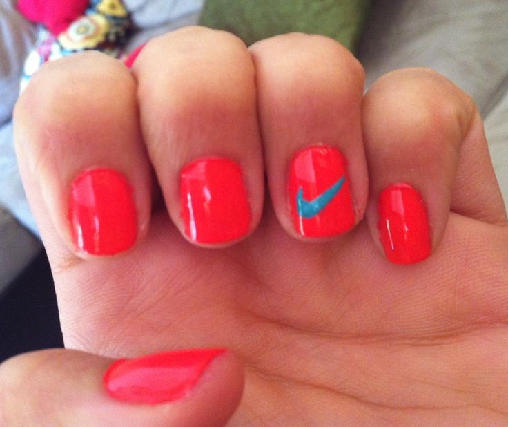 Nike nails!