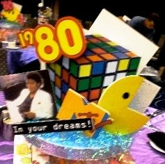 Custom Table Decor 80s Party Pinterest 80s Party Party And