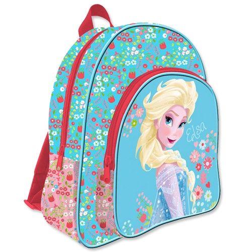 Disney Frost / Frozen Elsa Flowers Skoletaske - Stor