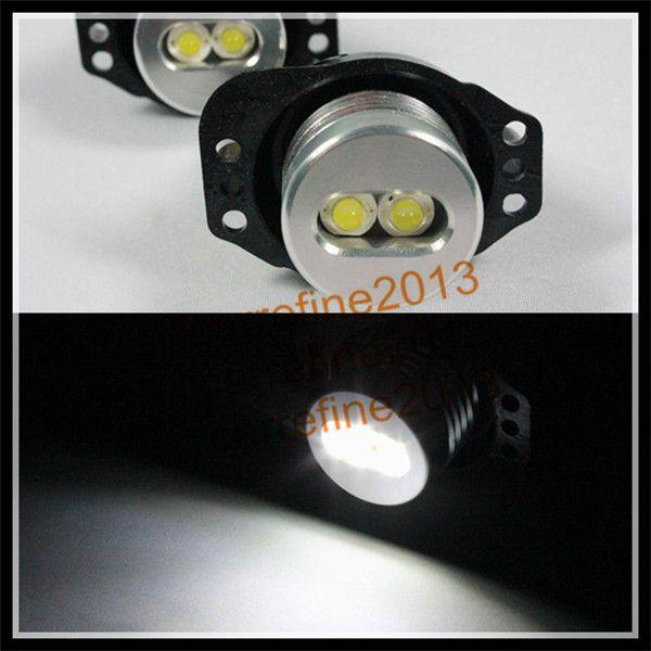 2 ШТ. * LED angel eyes для BMW E90 E91 6 Вт Прокат Halo LED Angel Eyes лампы СВЕТОДИОДНЫЕ фары angel eyes маркер для BMW E90 E91 для BMW