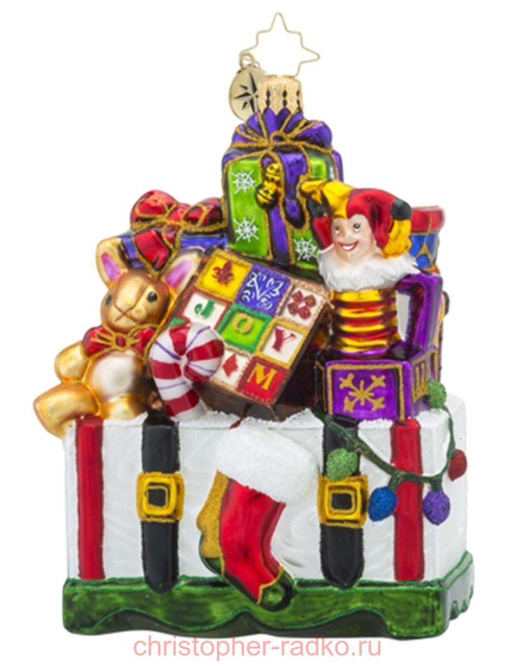 Елочная игрушка Подарки для малышей арт.1018396