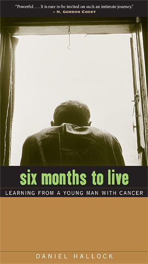 "Six Months to Live: Learning from a Young Man with Cancer.  ""I wouldn't trade my life for anyone else's. If I could choose not to have cancer, and continue my life as it was, I wouldn't do it."" – Matt Gauger, 22. Find out more: http://www.plough.com/en/ebooks/s/six-months-to-live"
