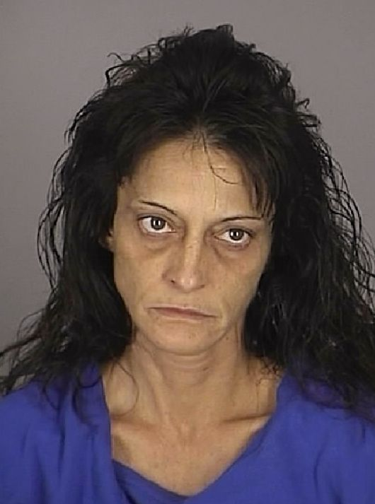 In this undated booking photo released by the Pasco County Sheriff's Office shows Stacey Ann Petty. ... - AP Photo/Pasco County Jail////  If this is a stripper, put your clothes back on!