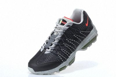 buy online df88f 45c54 Nike Air Max 95 Hyp PRM 20 Anniversary ULTRA JACQUARD Black Wolf Grey Total  Orange