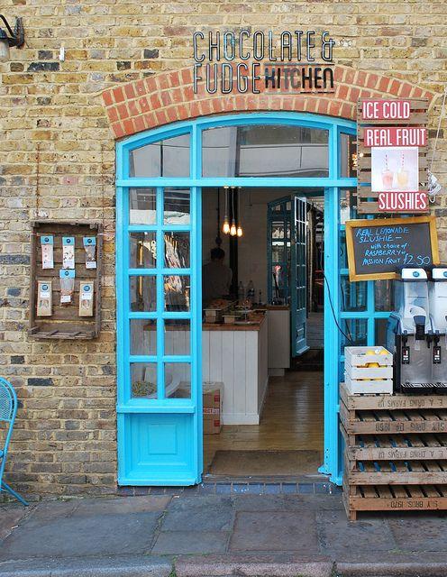 Mighty Fine Chocolate & Fudge Kitchen | London: Kitchens Interiors, Kitchens Desks, Chocolate Fudge, Fine Chocolates, Camden Locks, Fudge Kitchens, Locks Marketing, Chocolates Fudge, Photo