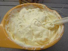 Tejszínes krém süteménybe
