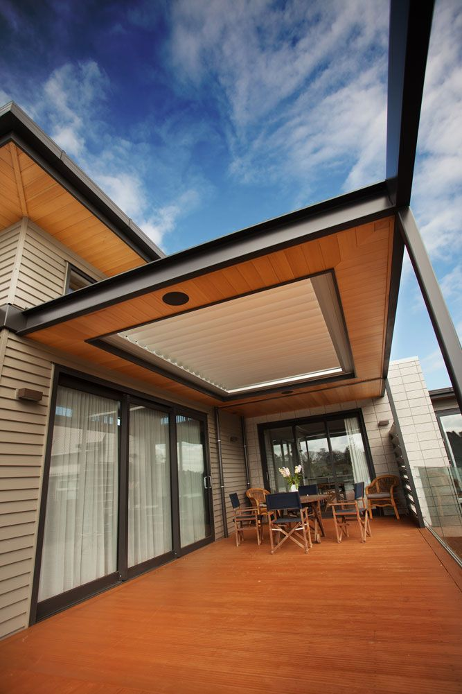 NZ Louvres make comfortable living easy, with specifically designed, built in rain detectors that sense even the slightest touch of rain; instantly closing the roofing system protecting you and your loved ones from the elements.