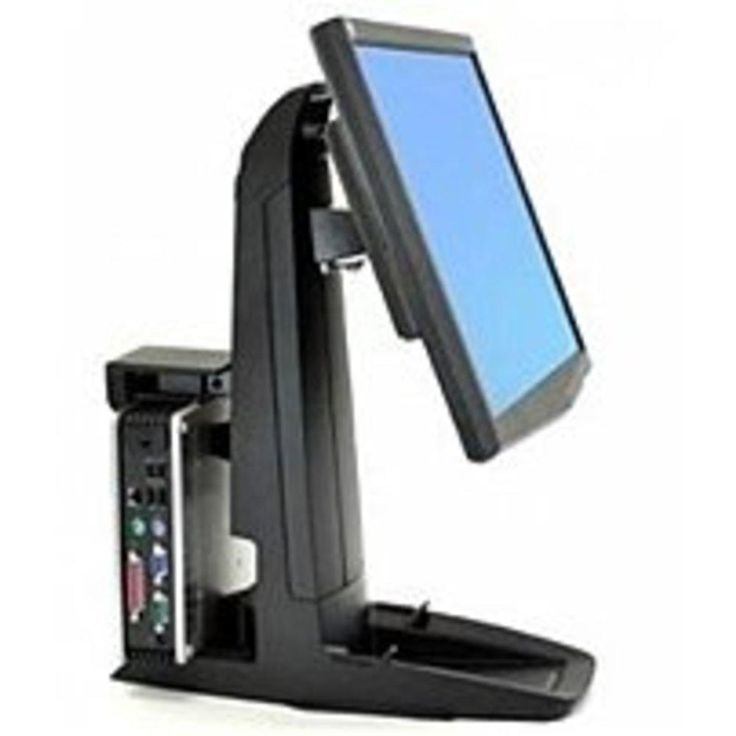 Ergotron Neo-Flex 33-338-085 All-In-One Lift Stand for 24.0-inch LCD Monitor - Black
