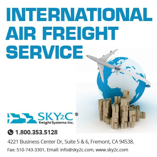 Sky2c provides the best international air #freight services. Contact us today for a free quote