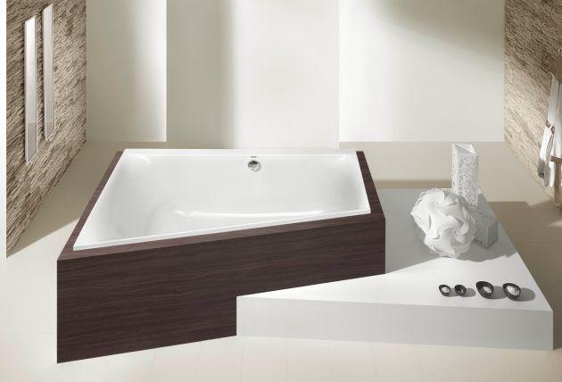 Trapez-Badewanne von Hoesch