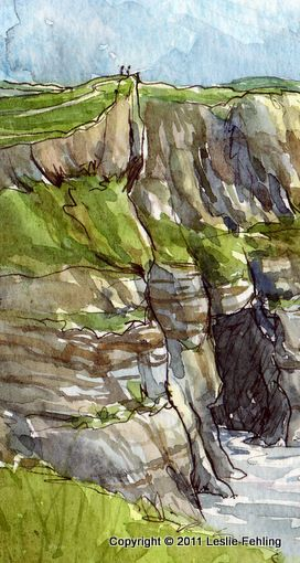 Everyday Artist: Sketchbook Journeys - Ireland: Days 8-9