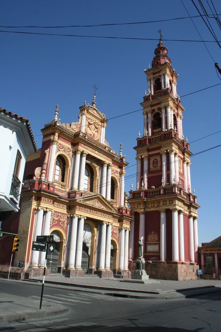 A Church in Salta, Argentina