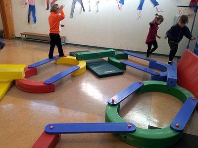 Ecole maternelle de la Fontaine: Le dernier parcours de la période...