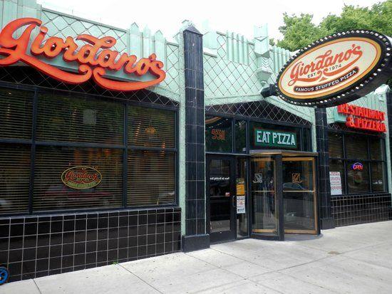 Giordano's Pizza, Hyde Park, Chicago