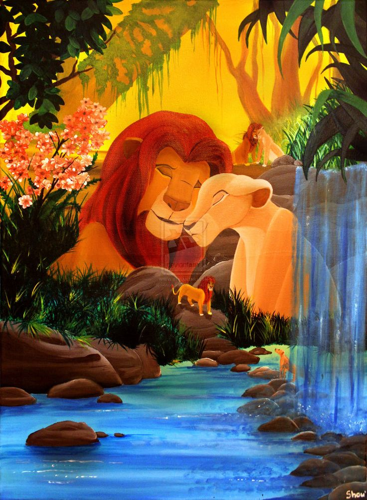 Day 15: favorite romantic moment. Simba and Nala during ...