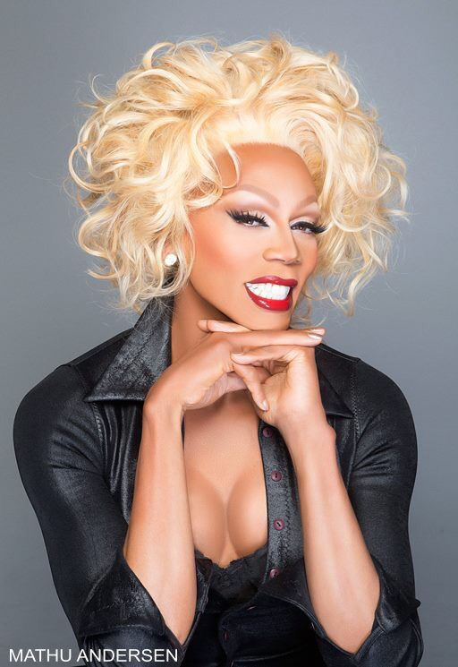 Rupaul head shot