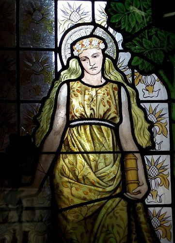 Stained-Glass: #Stained-glass panel.