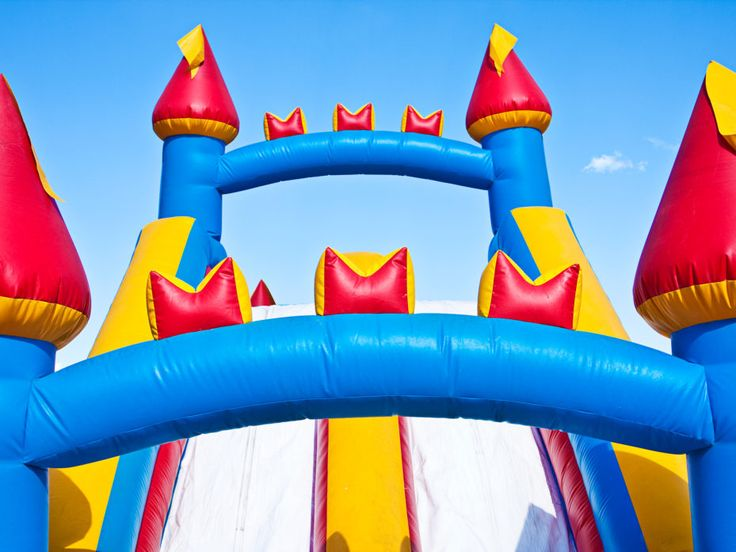 Parties with bouncy castles are parties kids want to attend, but those air-filled playhouses have the unfortunate habit of lifting into the air with alarming frequency.