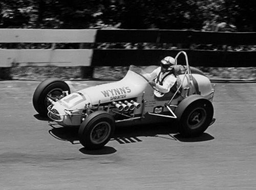 Don Branson 65' USAC Sprint Car race at Winchester IN.