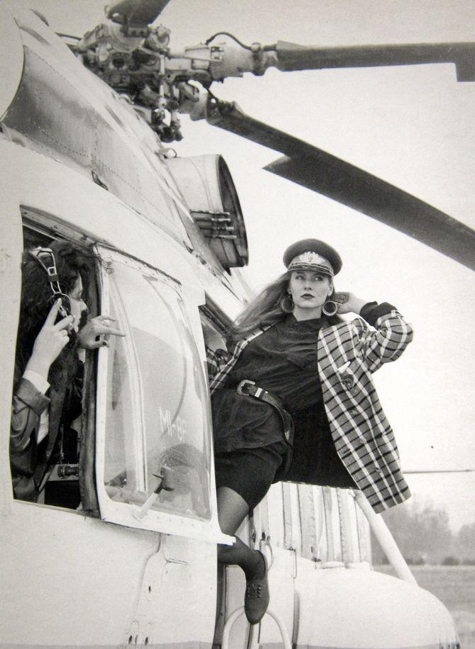 Romaniţa Iovan, uma top model da Romênia comunista