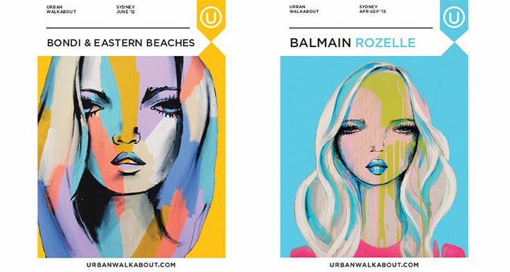 Bondi & Eastern Beaches Balmain/Rozelle Anya Brock: Cover Artist - Urban Walkabout Sydney Blog