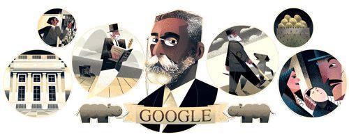 178º Aniversário de Machado de Assis - Um dos meus escritores preferidos...queridos!!!