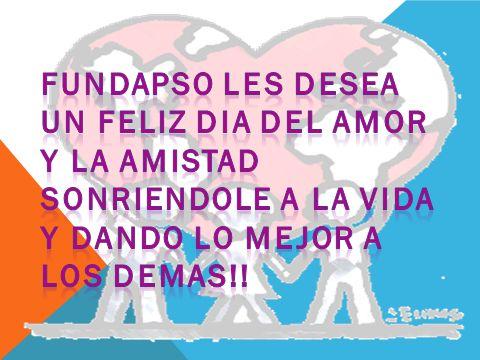 A CELEBRAR CON MUCHAS AMISTADES Y SOBRETODO MUCHO AMOR!!! FELIZ DIA!!!