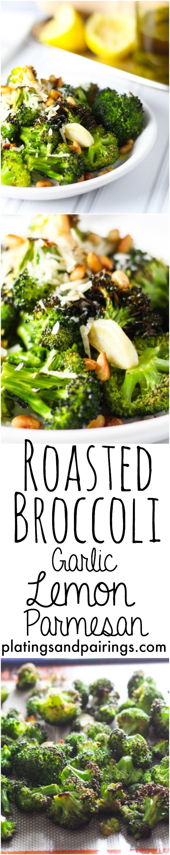 The BEST broccoli EVER!!! platingsandpairings.com