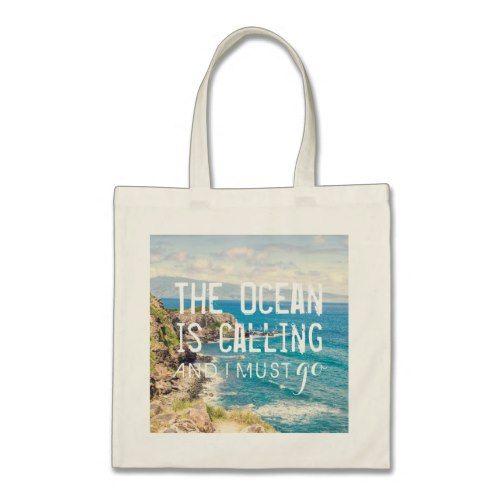 The Ocean is Calling - Maui Coast   Tote Bag