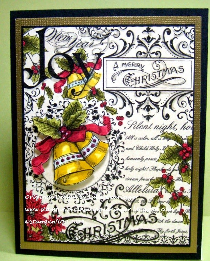 361 Best Images About Stampin Up Christmas Cards... On