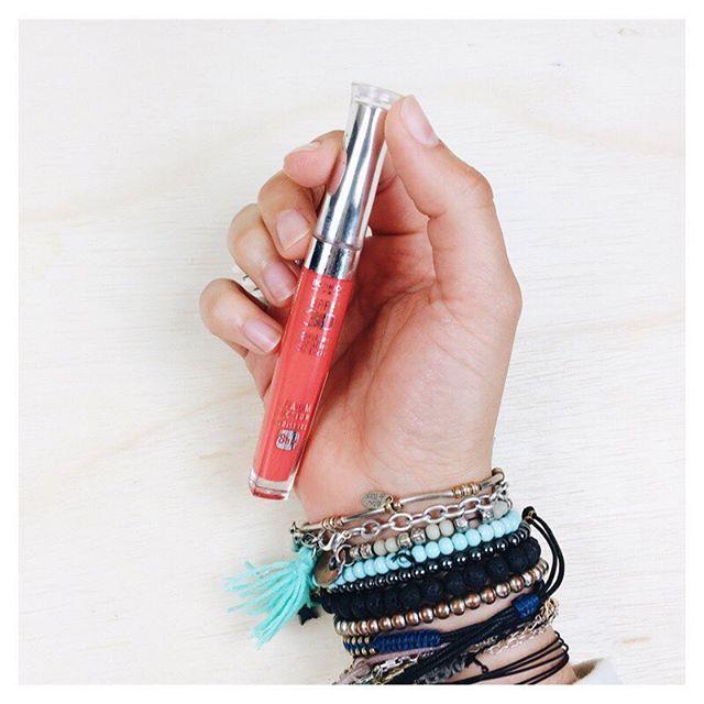 Gloss corail mon rouge à lèvres du moment #bourjois # makeup @bdcbleblog