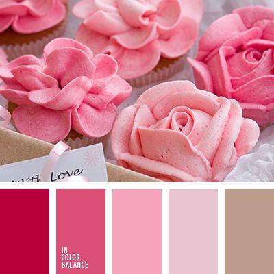 color cacao, color rosa, marrón, marrón claro, marrón polvoriento, marrón y rosado, rosado, rosado claro, rosado oscuro, rosado pálido, rosado polvoriento, rosado y rosado oscuro, tonos rosados, tonos rosados suaves.