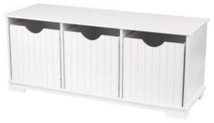 KidKraft Nantucket Storage Bench - traditional - toy storage - iToyBoxes